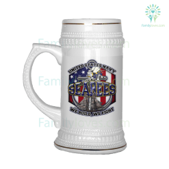 SEABEES BEER STEIN %tag familyloves.com