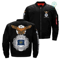 Security police department of the air force united states of America over print jacket %tag familyloves.com