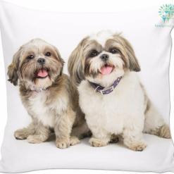 Shih tzu pillow face cute %tag familyloves.com