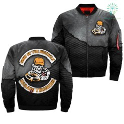familyloves.com SON OF THE HIGHWAY BADASS TRUCKERS OVER PRINT JACKET %tag