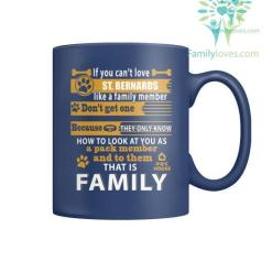 ST. BERNARDS DOG - MUGS %tag familyloves.com