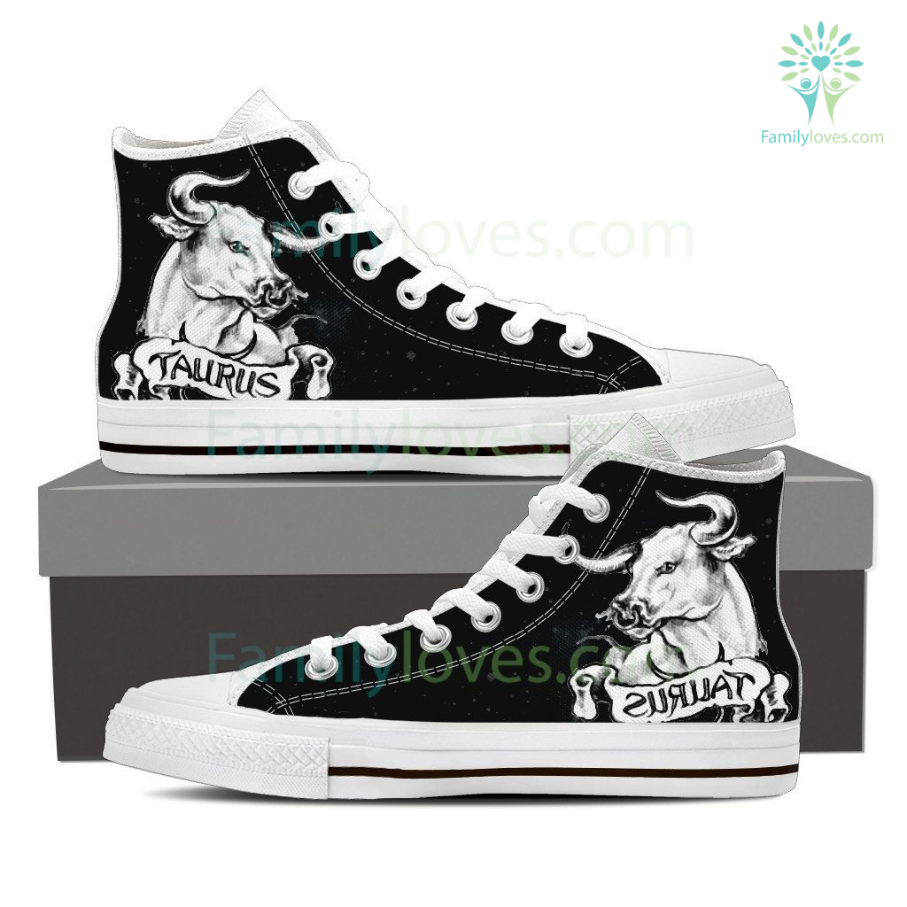 Taurus High Shoes White Buffalo %tag familyloves.com