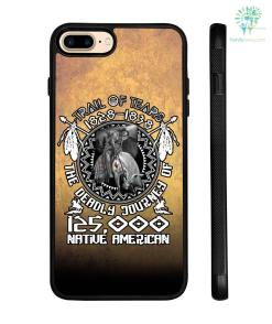 Trail of tears 1828-1838 the deadly journey 125.000 native America Samsung, iPhone case - iPhone 7 Case %tag familyloves.com