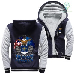 U.S Air Force veteran woman hoodie %tag familyloves.com