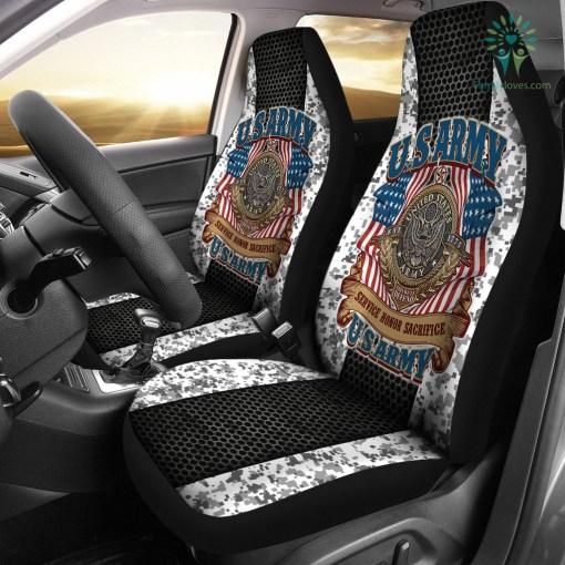 U.S.ARMY VETERAN SERVICE HONOR SACRIFICE CAR SEAT COVERS %tag familyloves.com