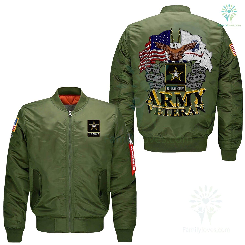 efe2a1e3 familyloves.com U.S ARMY VETERAN EMBROIDERED JACKET %tag