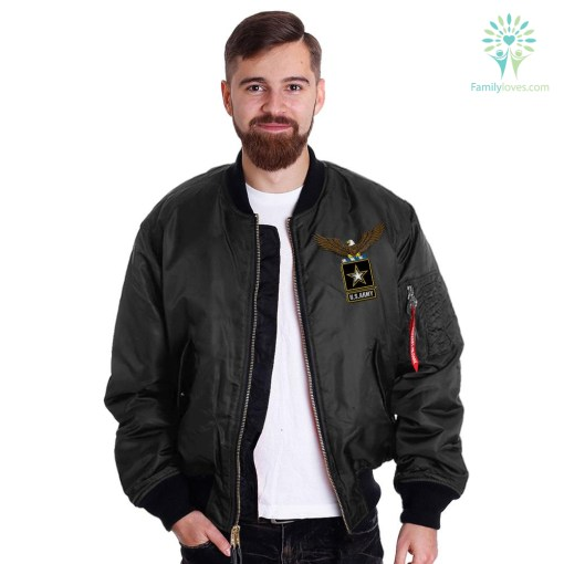 U.S.ARMY RETIRED EMBROIDERED JACKET %tag familyloves.com
