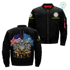 U.S.NAVY, SINCE 1775, THE SEA IS OUR V3.0 over print jacket %tag familyloves.com
