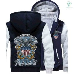 U S NAVY - THE SEA IS OURS HOODIE v2.0 %tag familyloves.com