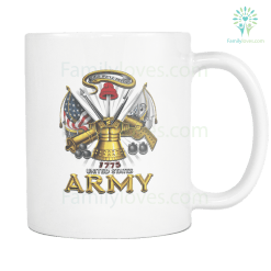 UNITED STATES ARMY 1775, THIS WE'LL DEFEND MUG %tag familyloves.com