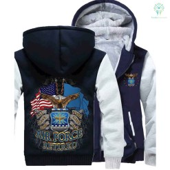 US AIR FORCE RETIRED HOODIE %tag familyloves.com