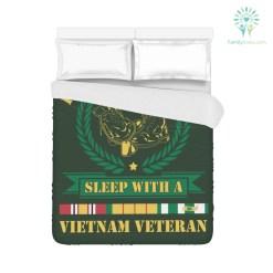 Vietnam veteran Duvet Cover - Feel Safe at Night, Sleep With a Vietnam Veteran %tag familyloves.com