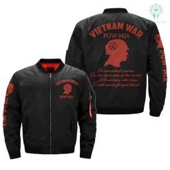familyloves.com VIETNAM WAR POW-MIA 2255 SOLDIERS STILL SLEEP Vietnam Veterans of America OVER PRINT JACKET %tag