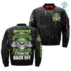 familyloves.com WARNING THIS TRUCKER IS AN ASSHOLE IF YOU DO NOT WANT YOUR FEELINGS HURT BACK OFF OVER PRINT JACKET. %tag