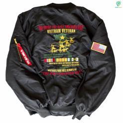 Veteran Embroidered Jacket We Were The Best America HAD VietnamVeteran %tag familyloves.com