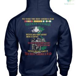 WE WERE THE BEST AMERICA HAD - Vietnam Veterans of America - Gildan Hoodie %tag familyloves.com