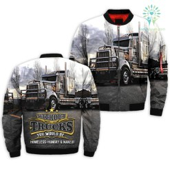 familyloves.com WITHOUT TRUCKS YOU WOULD BE HOMELESS-HUNGRY AND NAKED OVER PRINT JACKET %tag