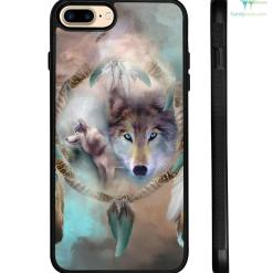Wolf Dream Catcher Samsung, IPhone Case %tag familyloves.com