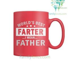 familyloves.com WORLD'S BEST PARTER I MEAN FATHER - MUGS %tag