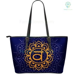 Yoga Large Leather Bag %tag familyloves.com