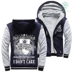 I Am A Coast Guard Veteran I Love Freedom I Wore Dogtags I Have A DD-214 Woman Hoodie %tag familyloves.com
