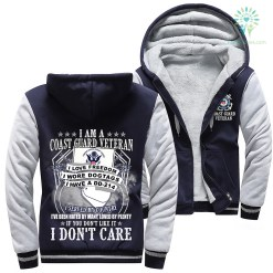 I Am A Coast Guard Veteran I Love Freedom I Wore Dogtags I Have A DD-214 Woman Hoodie 50% warm %tag familyloves.com
