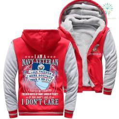 I Am A Navy Veteran Veteran I Love Freedom I Wore Dogtags I Have A DD-214 Woman Hoodie %tag familyloves.com