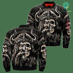 Viking Ages Over Print Jacket %tag familyloves.com