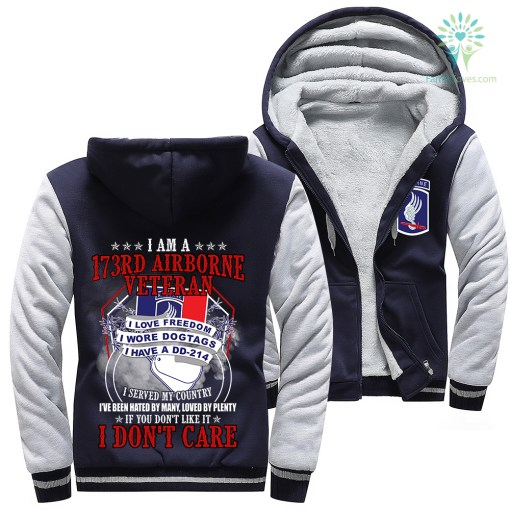 I Am A 173rd Airborne Veteran I Love Freedom I Wore Dogtags I Have A DD-214 Woman Hoodie %tag familyloves.com