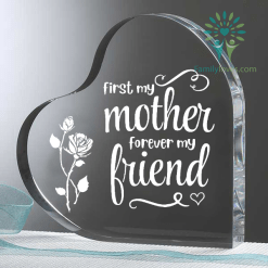 familyloves.com First my mother forever my friend Heart Keepsake %tag