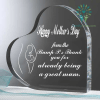 familyloves.com Happy mother's day from the bump p.s thank you for already being a great mum Heart Keepsake %tag