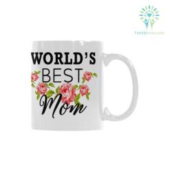 Worlds Best Mom Classical White Mug (11 OZ) (Made In USA) %tag familyloves.com
