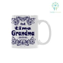 familyloves.com 1st time grandma Classical White Mug (11 OZ) (Made In USA) %tag