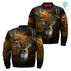 familyloves.com Deer hunting camo all over print jacket 2 %tag