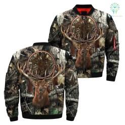 Dream Catcher Deer Tree Camo Over Print Jacket %tag familyloves.com