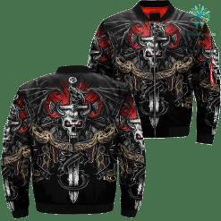 Gothic Anne Stokes Skulls Over Print Jacket %tag familyloves.com