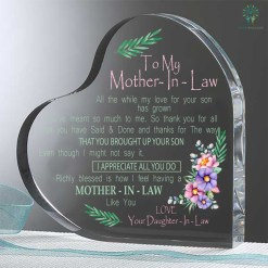 familyloves.com To my mother in law 2... Heart Keepsake %tag