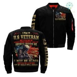 I Am A U.S Veteran I Would Put The Uniform Back On America Needed Me... over print jacket %tag familyloves.com