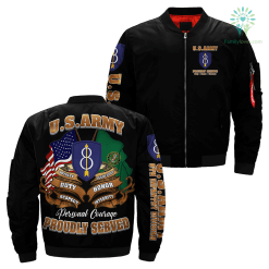 8th Infantry Division U.S. Army Over Print Jacket %tag familyloves.com