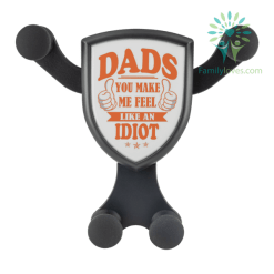 Dads, You Make Me Feel Like An Idiot Wireless Car Charger %tag familyloves.com