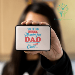 For Being Such A Wonderful Dad You Deserve A Lot Of Credit Bluetooth Speaker - Boxanne %tag familyloves.com