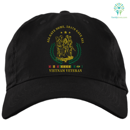 All gave some, 58479 gave some vietnam veteran Embroidery Dad Cap %tag familyloves.com