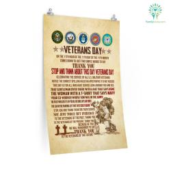 Veteran Day, On The 11TH Hour Of The 11TH Day OF The 11TH Month Posters %tag familyloves.com