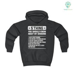 5 Thing You Should Know About My Grandma Youth Hoodie 50% colors hood hoodie length warm youth youth hoodie %tag familyloves.com