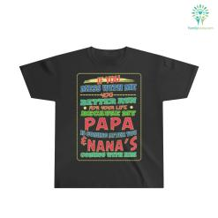 Better Run For Your Life – Papa And Nana's Are Coming Youth Ultra Cotton Tee %tag familyloves.com