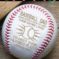Baseball dad some people have to wait... i raised mine %tag familyloves.com