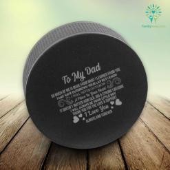 To my dad so much of me…love you Hockey Puck Stress Ball %tag familyloves.com