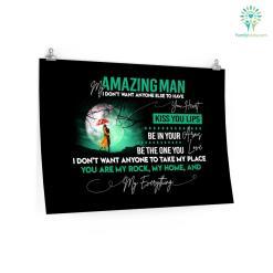 My Amazing Man Custom Photo Posters Gift, Letters From Wife To Husband Posters custom custom photo custom photo posters gift husband love photo photo posters posters sizes %tag familyloves.com
