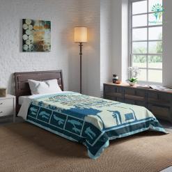 My Dear Grandson Comforter Gift %tag familyloves.com