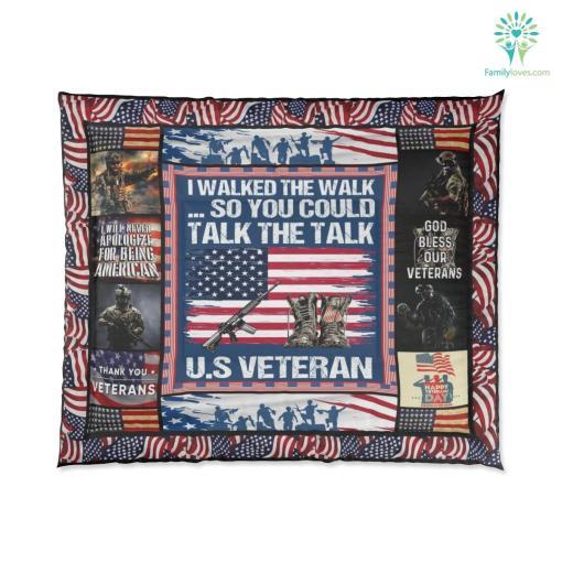 U.S. veterans memorial museum Comforter %tag familyloves.com